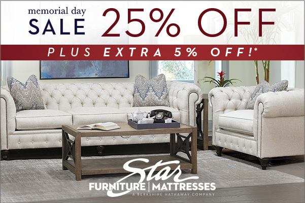 Find the Best Furniture Deals at Our Memorial Day Furniture Sales Event