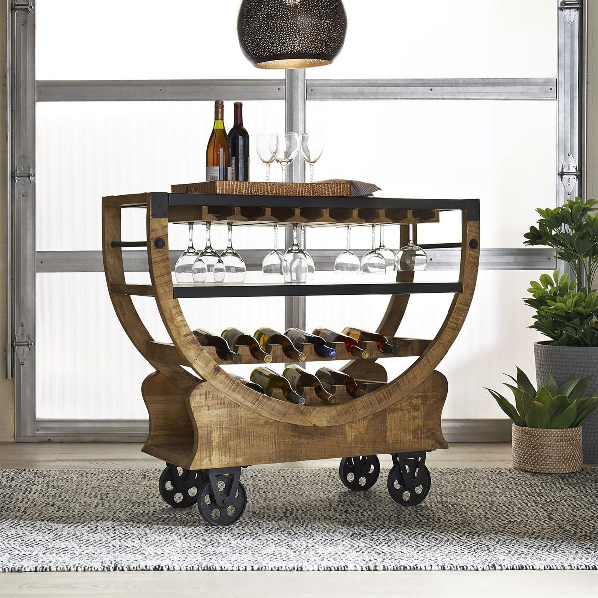 The 5 Best Bar Carts & Cabinets Perfect for Entertaining Summer Guests